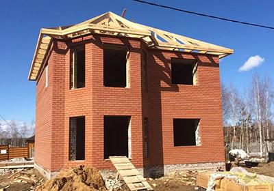 строительство кирпичного дома заказать