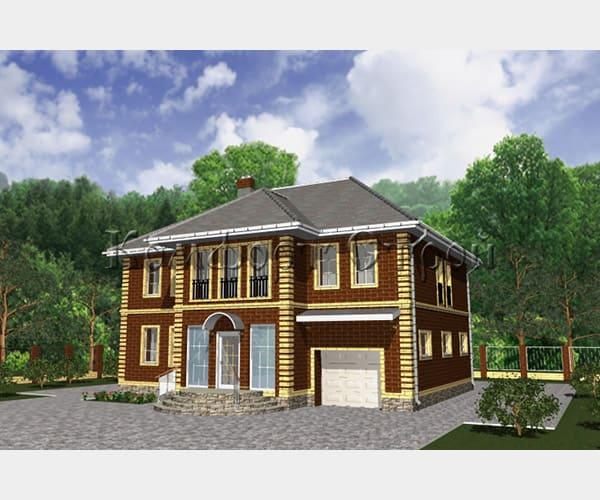 строительство дом газобетон