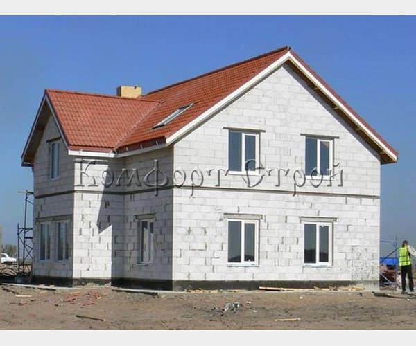 строительство дом газобетон архангельск