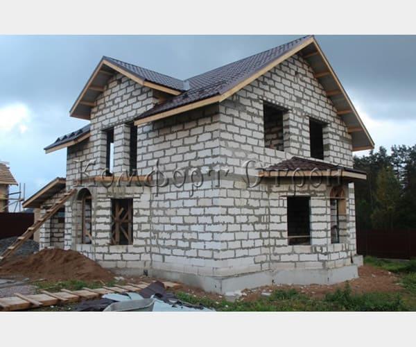 строительство дома газобетон архангельск